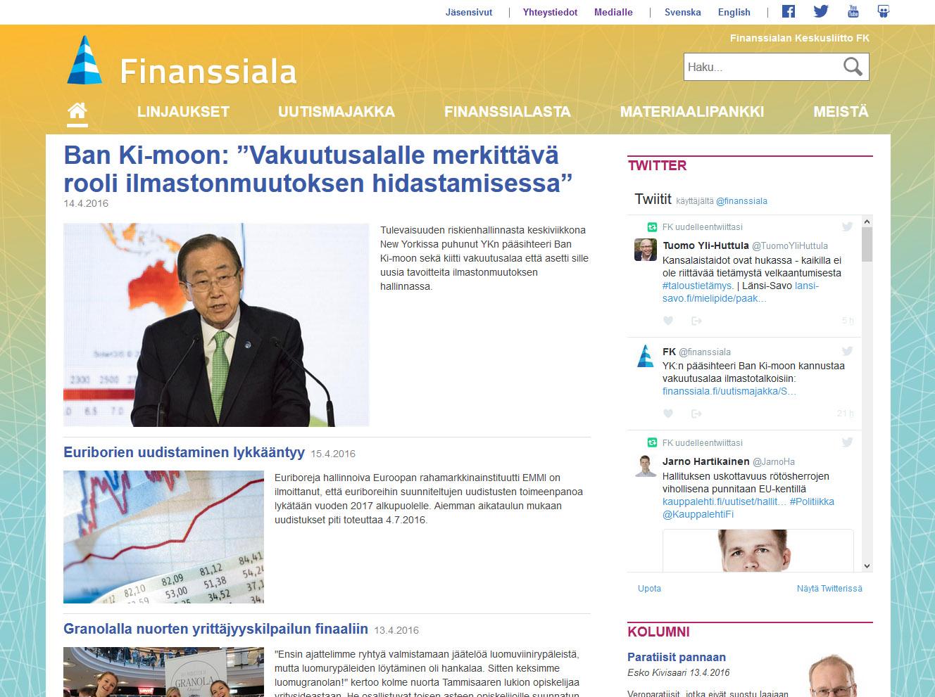 Case: Finanssiala.fi