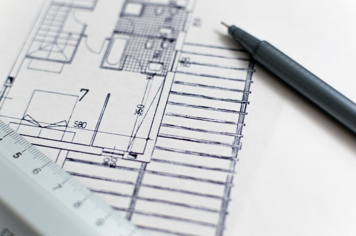 arkkitehtuuripiirros