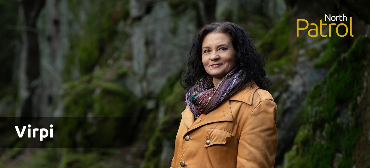 Kirjoittajana Virpi Blom